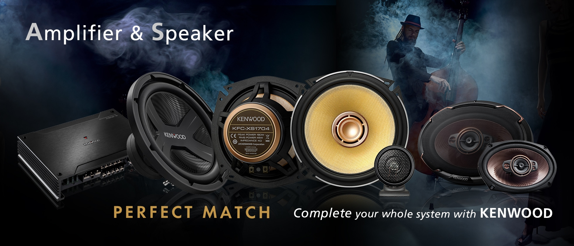 speaker&amplifier