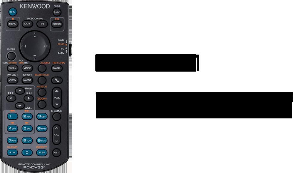 "Kenwood DMX1025BT 6.8"" Multimedia WVGA Touchscreen Display AV Head Unit -"
