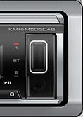 KENWOOD KMR-M505DAB Marine, Digital Media Receiver with Bluetooth -