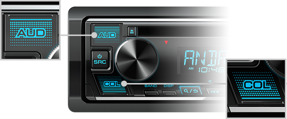 Kenwood KDC-130U SINGLE DIN CD/BLUETOOTH -