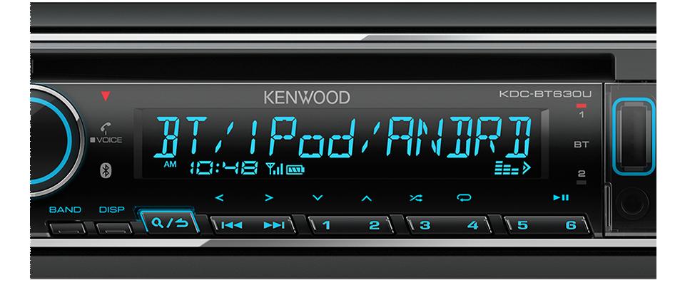 Kdc Bt630u Audio Receivers Car Electronics Kenwood Malaysia