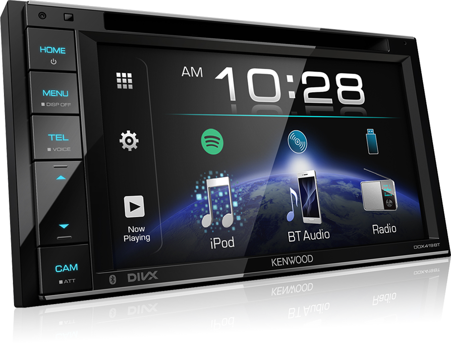 Kenwood KDC-BT530U Car CD MP3 USB Receiver with Built-in Bluetooth Aux In Stereo