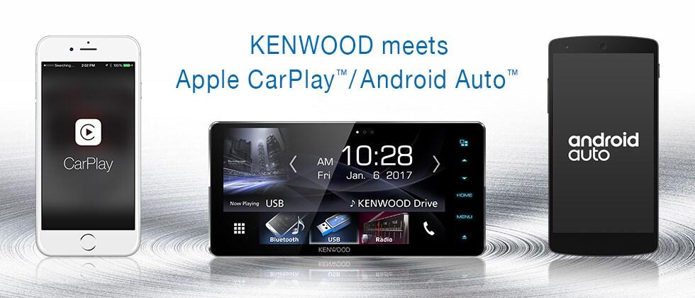 KENWOOD meets Apple CarPlay