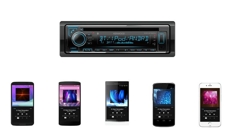 KDC-BT620U | Audio Receivers | Car Electronics | KENWOOD