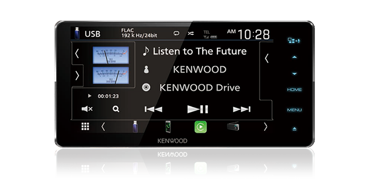 Kenwood DNX5180S Apple CarPlay Android Auto Navigation Touchscreen Head Unit With CD/DVD Player -