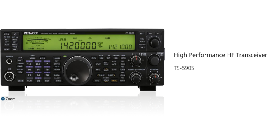 High Performance HF Transceiver TS-590S