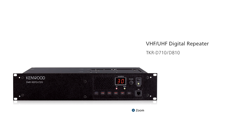 NEXEDGE® VHF/UHF Digital & FM Portable Radios TKR-D710/D810