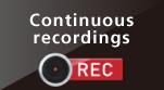Continuous recordings