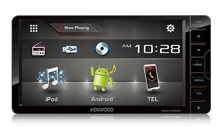 multimedia and navigation car electronics kenwood ddx616wbt