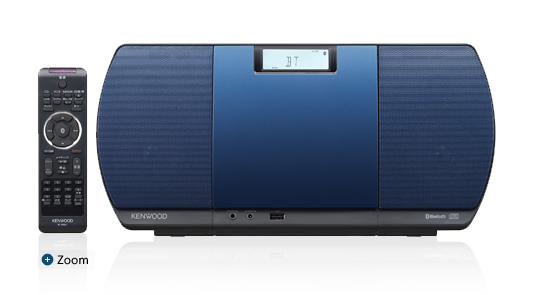 【ワイドFM対応】 [CRD3L] (ブルー) CR-D3-L Bluetooth対応 【送料無料】 ミニコンポ ケンウッド