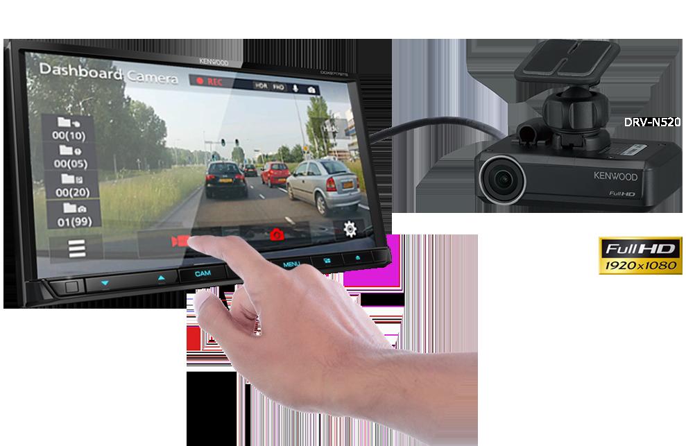 kenwood DRV-N520 Dash Camera -
