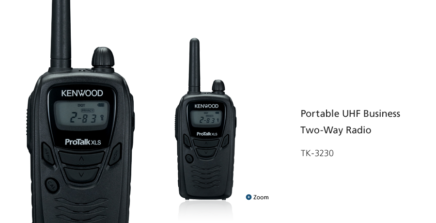 Portable UHF Business Two-Way Radio TK-3230