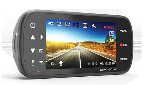 kenwood DRV-A501WDP Front & Rear Camera -
