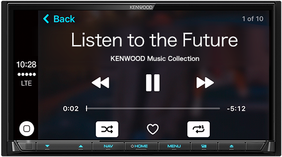 Live Connected  Drive Connected    KENWOOD