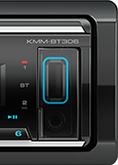 Kenwood KMM-BT305 SINGLE DIN MECHLESS UNIT -