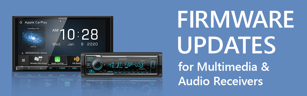 FIRMWARE UPDATES for Multimedia & Audio Receivers