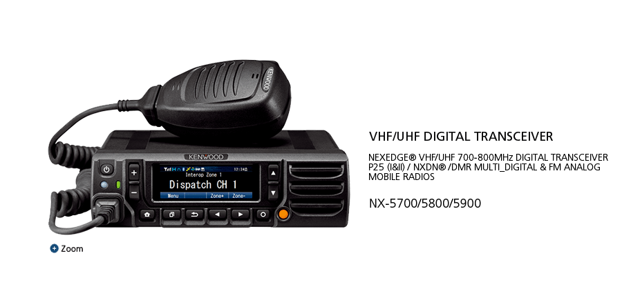 NX-5700_5800_5900 VHF/UHF Digital Transceiver P25(I&II)NXDN