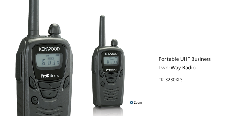 Portable UHF Business Two-Way Radio TK-3230XLS